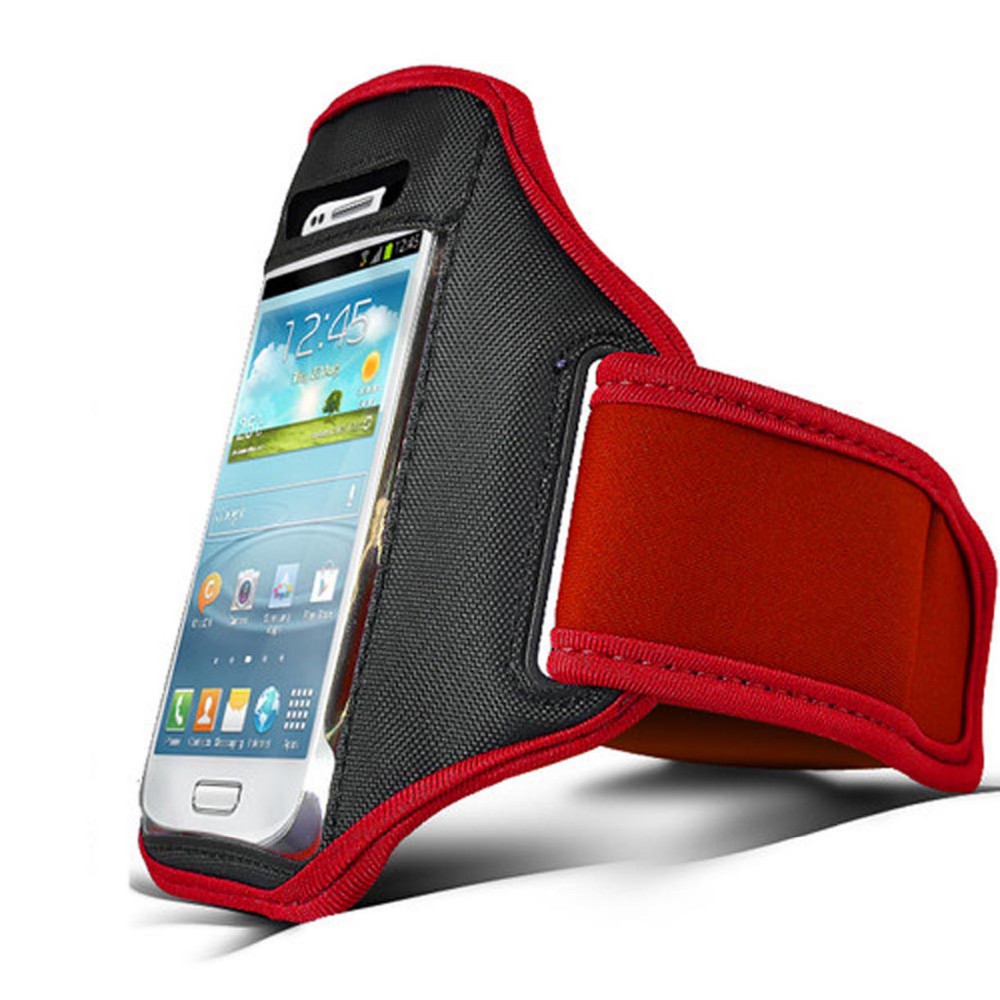 Red Running Sport Armband GYM Skin Case Cover for Cell Phone iphone 3g 3GS(China (Mainland))