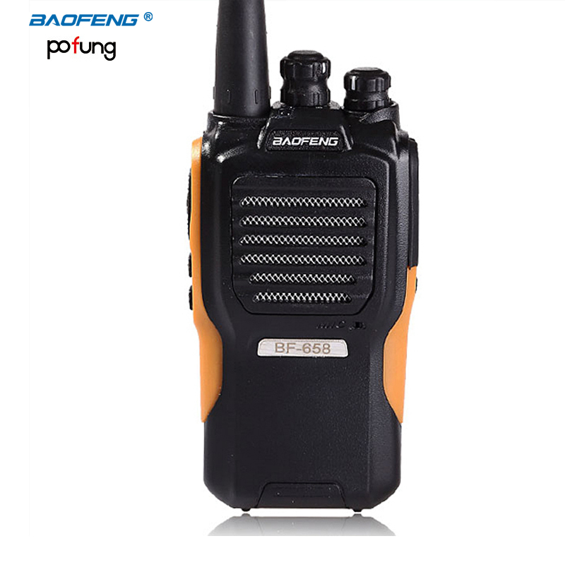 Baofenfg Walkie Talkie BF-658 5W UHF 400.00-470.00 MHz Two Way Radio Handheld Portable CB radio Professional Walkie Talkie(China (Mainland))