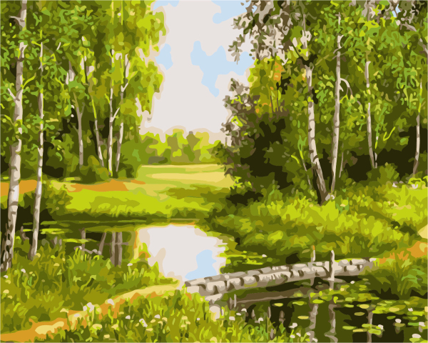 Landscape Frameless Pictures Painting By Numbers DIY Canvas Oil Painting Home Decoration For Living Room GX7308 40*50cm(China (Mainland))