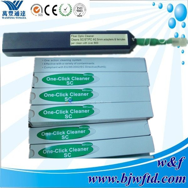 Optic Connector Fiber One Click Cleaner supplier(China (Mainland))