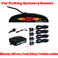 4 Sensors Car Parking Radar Reverse System With LED Digital Display Indicator