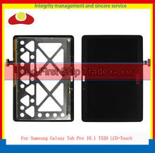 20pcs/lot Original For Samsung Galaxy Tab Pro 10.1 T520 Touch Screen Digitizer+LCD Display Assembly Complete 2560*1600(China (Mainland))
