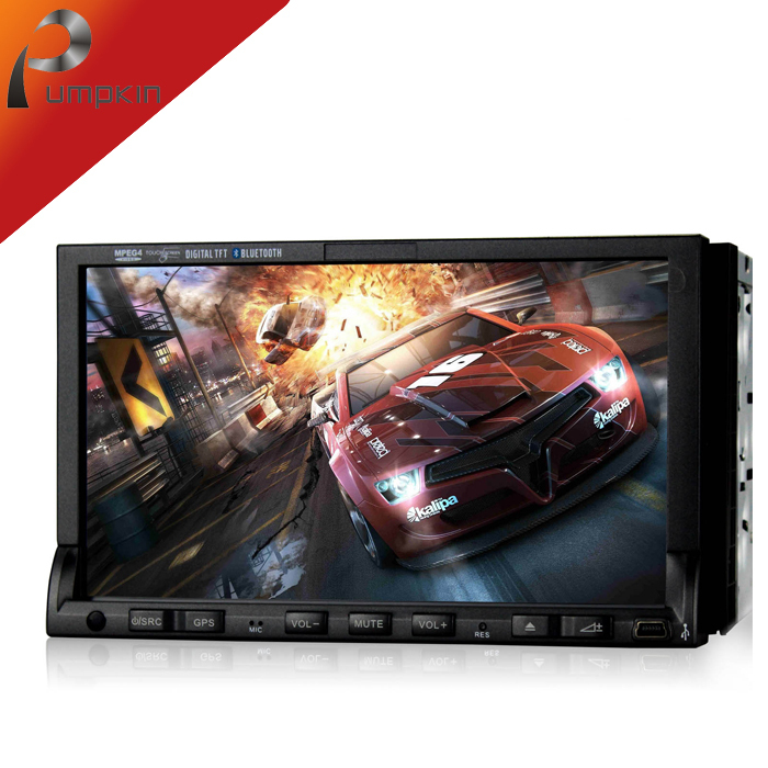 """Universal Double 7""""2 din Car DVD Player With 3G GPS Navigation Stereo Auto Radio Bluetooth DVR DVD Automotivo Car Styling(China (Mainland))"""
