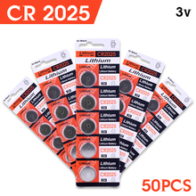 Buy watch Button battery 3V CR2025 ECR2025 BR2025 DL2025 Watch Button Coin Cells Lithium Battery 50 Pcs EE6280 for $10.21 in AliExpress store