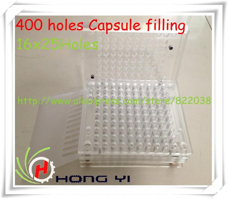 400 capsule filling machine