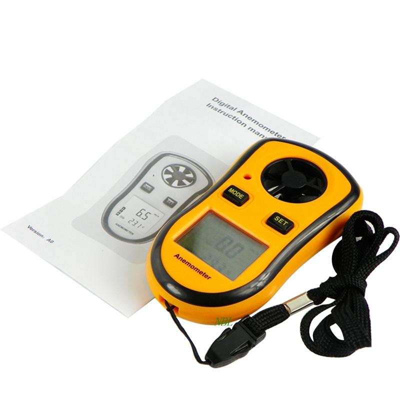 LCD Digital Mini Anemometer Air Wind Speed Scale Gauge Meter Pocket Smart Measure Velocity GM8908(China (Mainland))