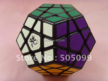 New Free shipping of Dayan Megaminx I Black with or without  corner ridges