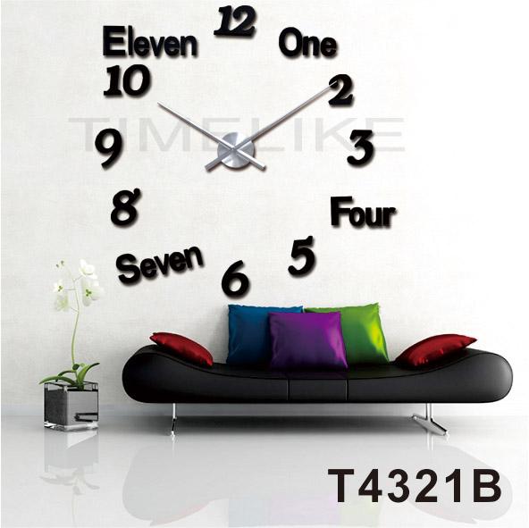 Grande horloge mains promotion achetez des grande horloge for Horloge murale grande taille