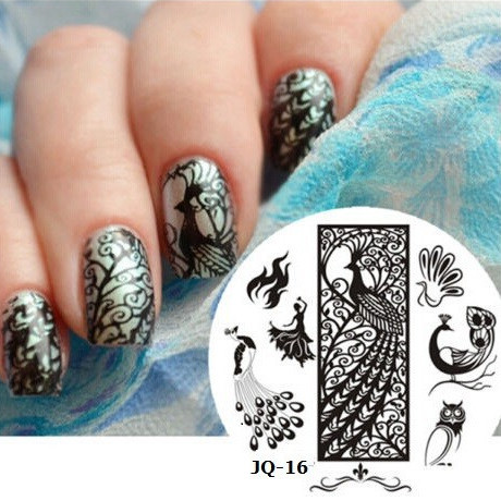 2015 New 75deisgns Sexy DIY Designs Stamping Plates Nail Art Templates Image Stamp Stencil Polish Manicure Stamp Tools (JQ-16L)(China (Mainland))