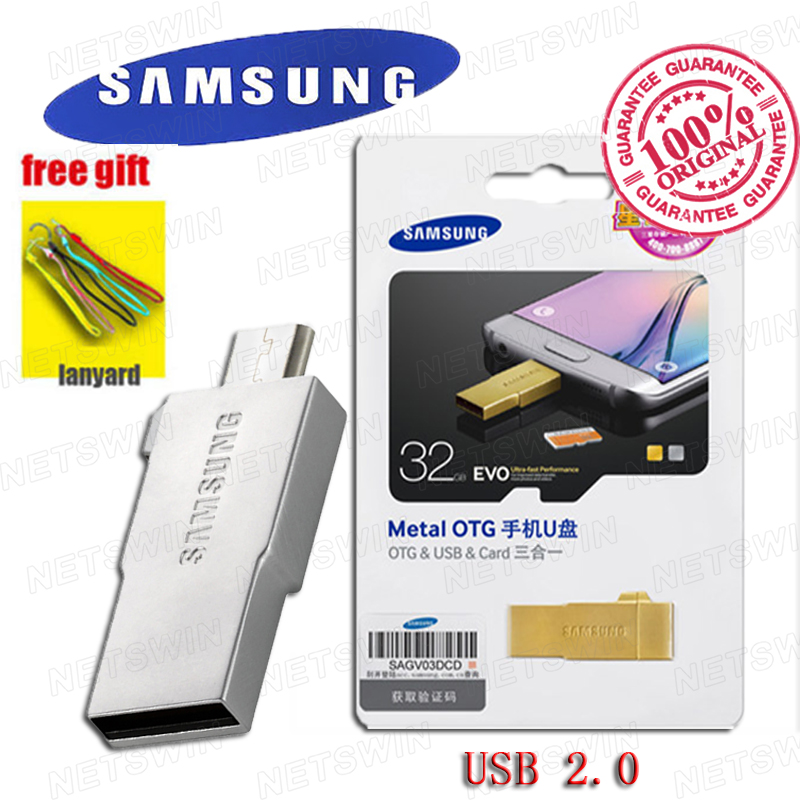 SAMSUNG micro USB Flash Drive Disk 16GB 32GB 64GB EVO MICRO SD Android Smartphones Tablets Support Official Verification(China (Mainland))