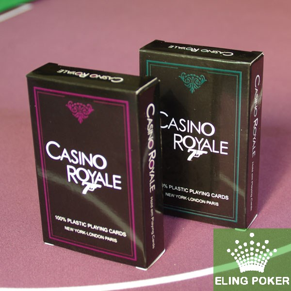Hot Sale Original genuiIne frosted plastic playing cards wholesale price Green+Purple PVC Texas Poker waterproof poker(Hong Kong)