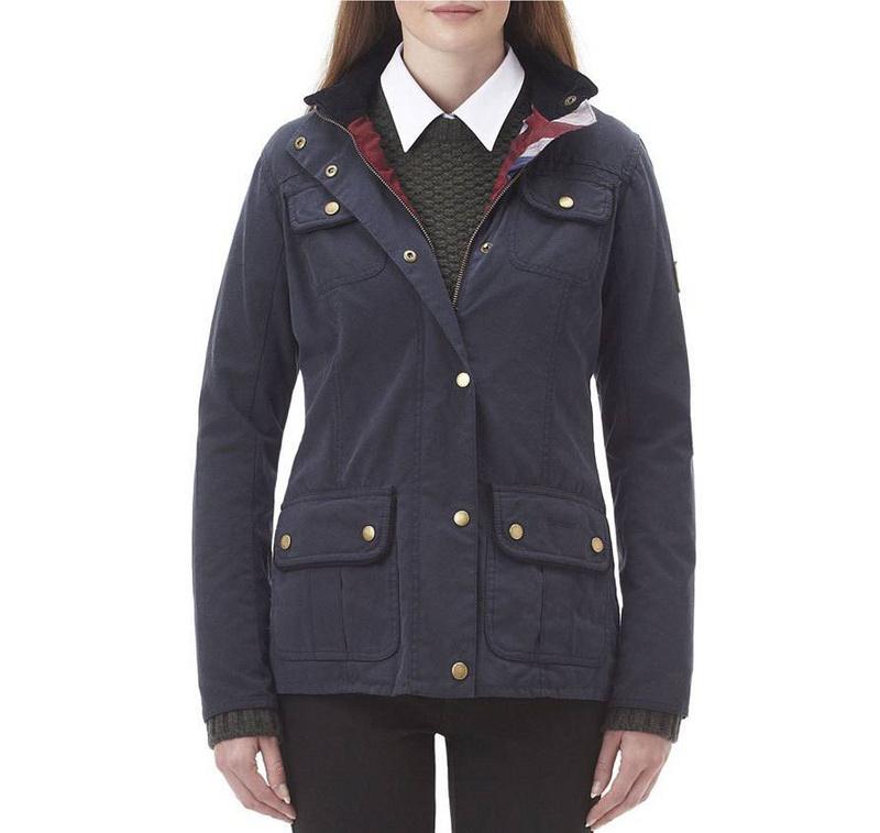 New Women fashion style lady Jacket Women's waterproof coat outdoor Ferndown Waxed Repaired Heritage Utility Waxed Jacket(China (Mainland))