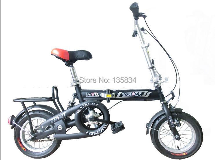 "MAWET Mini Children Bicycle 12 "" Carbon Steel Frame Folding Bike Bicicleta BMX Bike for Children Kids Soft Tail Suspension(China (Mainland))"