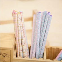 24pcs New Colors rainbow pencil 4 colors wood pencils stationery for DIY scrapbooking Fine Christmas gifts Wholesales OP016(China (Mainland))
