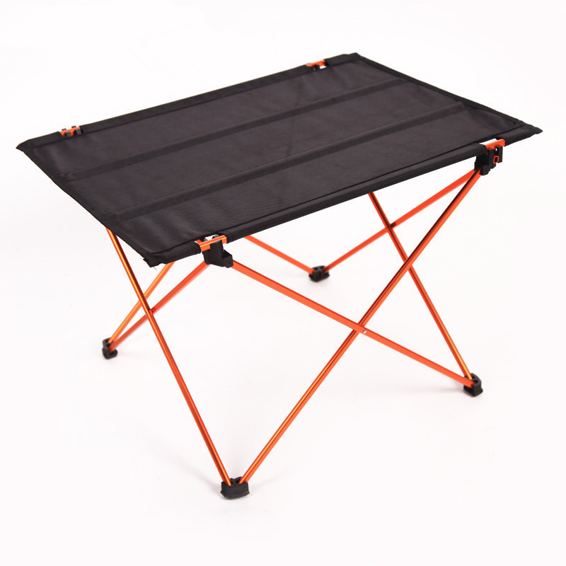 New Lightweight Aluminium Alloy Portable Folding Table Camping Outdoor Foldable Picnic Barbecue Desk(China (Mainland))