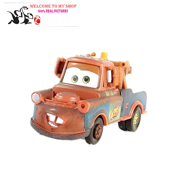 Pixar Cars 2 tow Mater 1:55 Scale Diecast Metal Alloy Modle Brio Cute Toys For Children Gifts New In Stock & Free Shipping(China (Mainland))