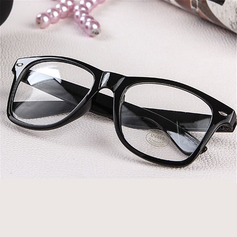 Fashion Men Women Optical Glasses Frame Glasses With Clear Glass ...
