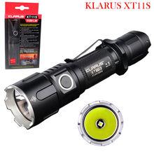 Original KLARUS XT11S CREE XP-L HI V3 LED 1100 Lumens USB Rechargeable Tactical Flashlight with 2600 mAh 18650 Battery