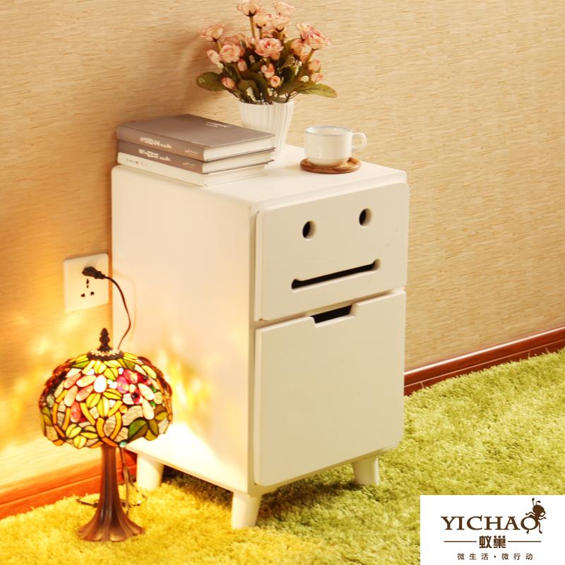 EC FURNITURE Nest wood nightstand white minimalist modern creative environment for children nightstand monopoly lockers shippin(China (Mainland))
