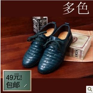 Шнуровкой круглый кожа вилочная часть свободного покроя обувь воздухопроницаемый скейтбординг обувь натуральная кожа воловья кожа обувь низкая - верхний
