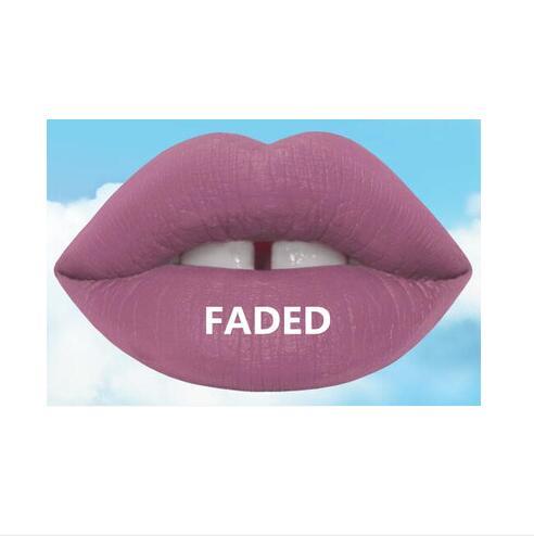 2016 latest Arrival 19 color Frosted lip gloss brand Liquid Lipstick Matte liquid Lipgloss / Waterproof Lip Gloss Free shopping(China (Mainland))