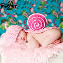 Hot Sale Hand Woven Character Photography Clothes Newborn Baby Pictures Baby Hat Crochet Wild Children Photo Props Free Shipping(China (Mainland))