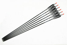 12x Aluminum Arrows Turkey feather for 20 50lbs Longbow Recurve Bow Hunting Archery for 80cm Length