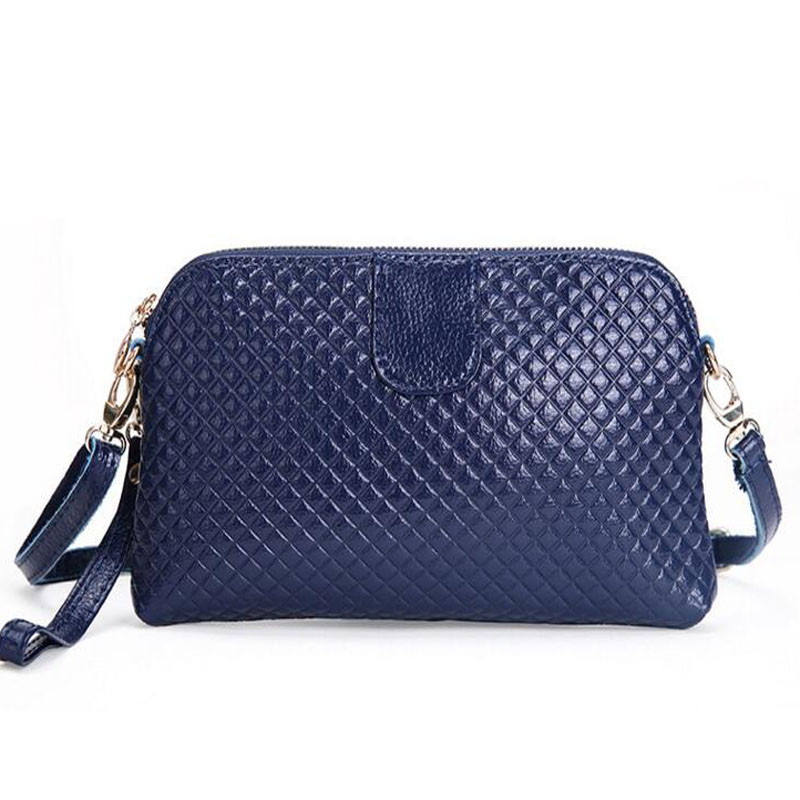 Lady bags Womens embossed genuine leather shoulder bags womans leather clutch bags small 2015 spring new<br><br>Aliexpress