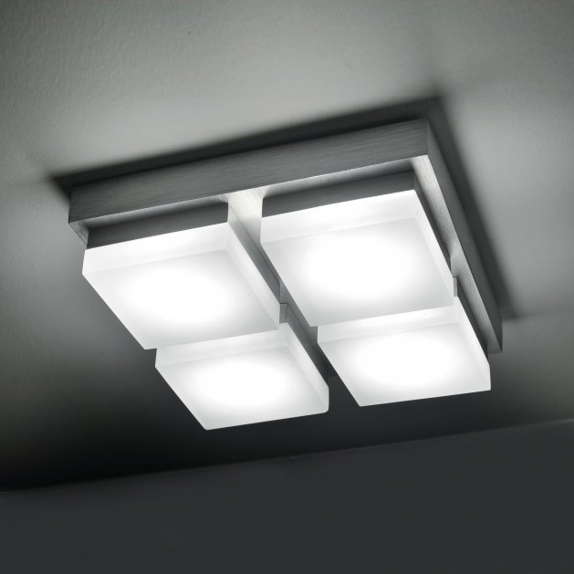 Carr lustre led clairage int rieur 20 w led lampes de for Eclairage led interieur plafond