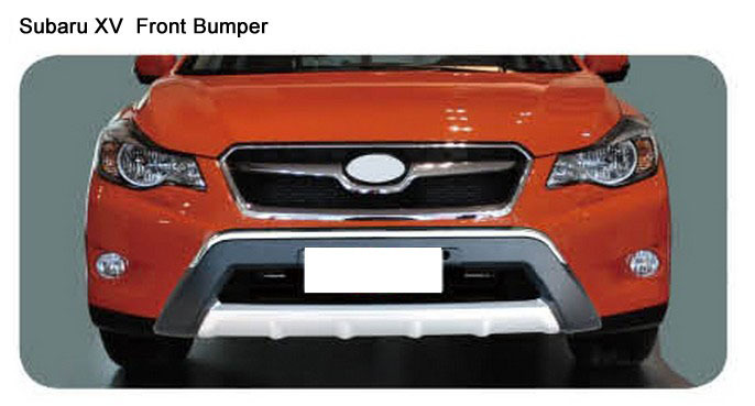 Quality SUBARU XV Front Bumper Guard Chrome ABS replacement Car Body Parts Free Shipping