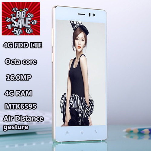 "5s smartphone original telephone celular mtk6595 octa core 16G rom 5.0"" IPS mobile cell phones 4G FDD LTE 3G GPS metal frame(China (Mainland))"