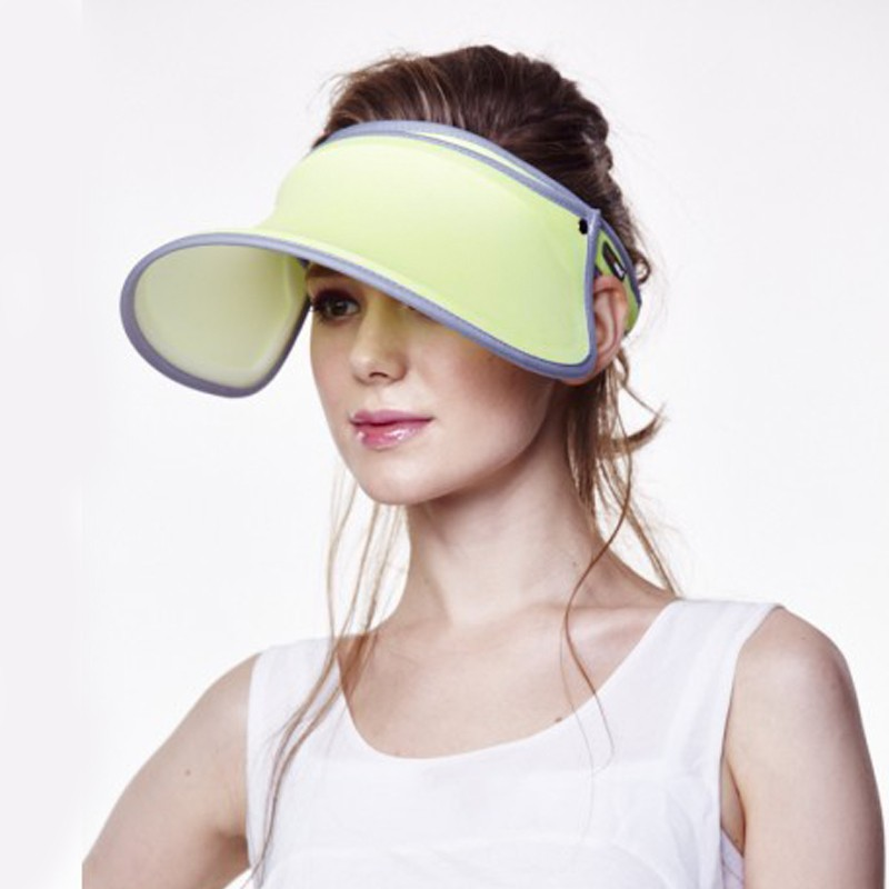 Attractive-Women-Visor-Sun-Plain-Hat-Sports-Cap-Colors-Golf-Tennis-Beach-Hat-Adjustable-Apr-Uv