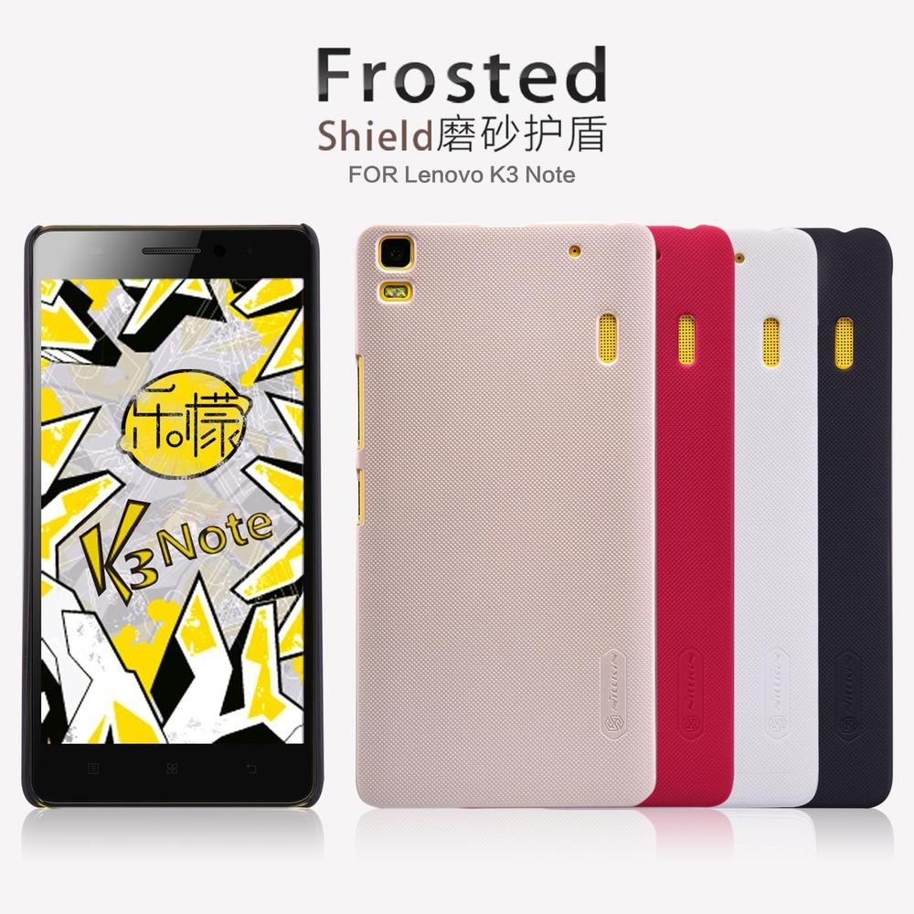Free Shipping Original Nillkin Lenovo K3 Note Case Frosted Case Back Cover Case with Gift Screen