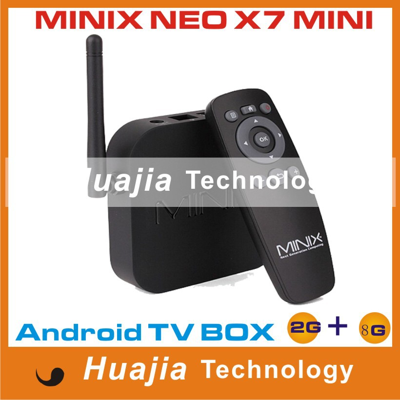 MINIX NEO X6 Android TV Box Amlogic S805 Quad Core Smart TV 1G/8G HDMI Media Player XBMC RJ45 USB Bluetooth IR H.265/HEVC 1080P(China (Mainland))