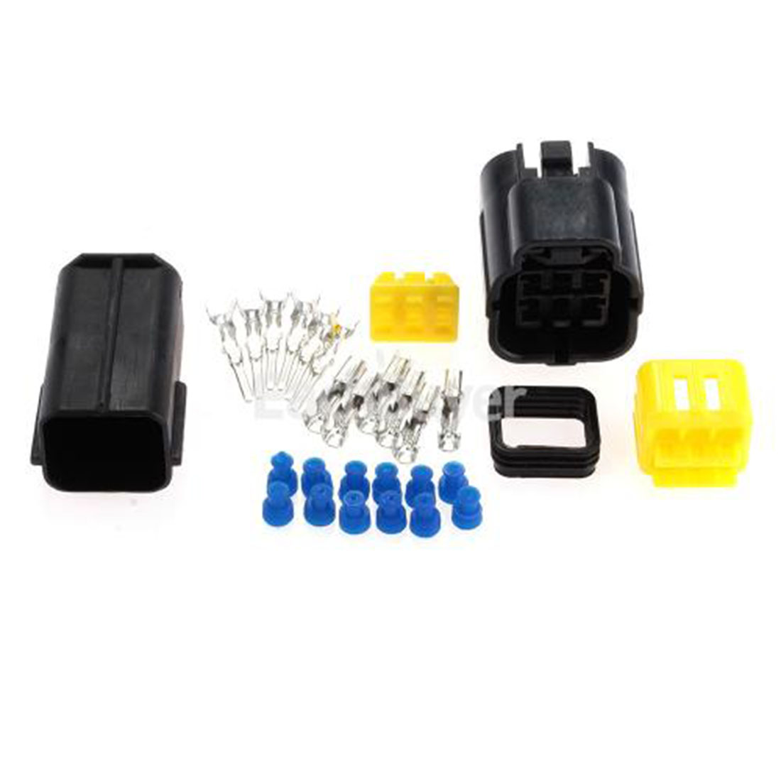 Гаджет  For Set Car Truck Boat ect 1 Kit 6 Pin Way Waterproof Wire Connector Plug Car Auto Sealed Electrical Set None Электротехническое оборудование и материалы