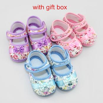 New Arrival Bowknot Infant Shoes Baby Shoes Flower Girls Shoes Kids Prewalker Toddler Shoes Soft Sole Walker Shoes 12pair/lot