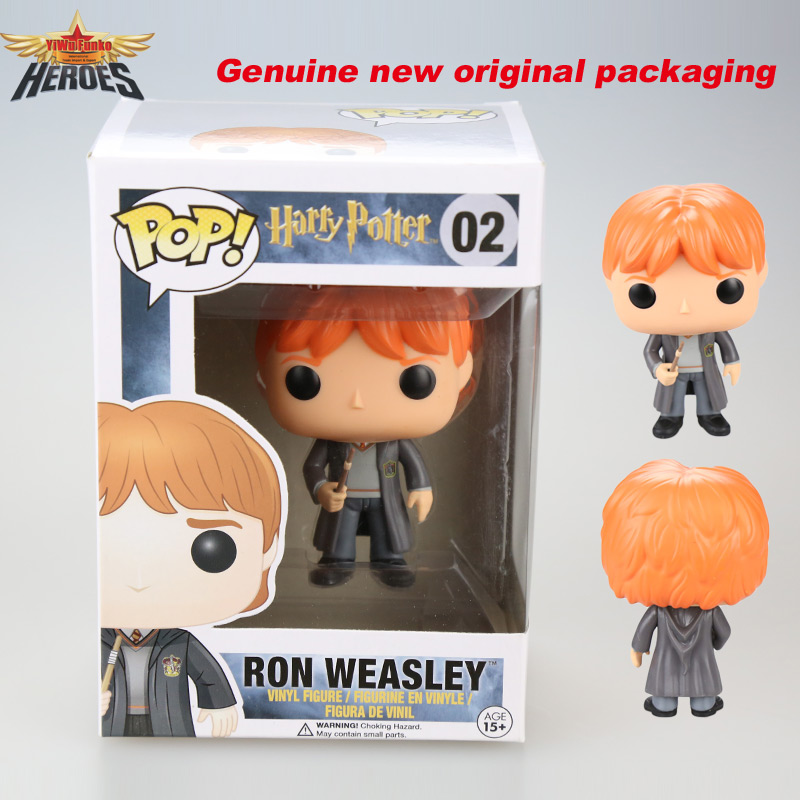 new 2015 Funko pop movies Harry Potter ron weasley Doll 10cm vinyl figure funko pop Action Figure PVC Collection toy gift <br><br>Aliexpress