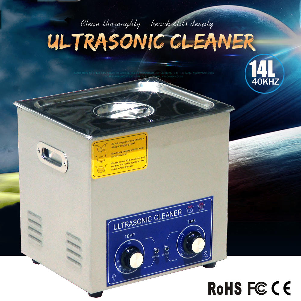 14L best value ultrasound cleaner(with timer and heater) for surgical instrument,jewelry cleaning or factory use.discount(China (Mainland))
