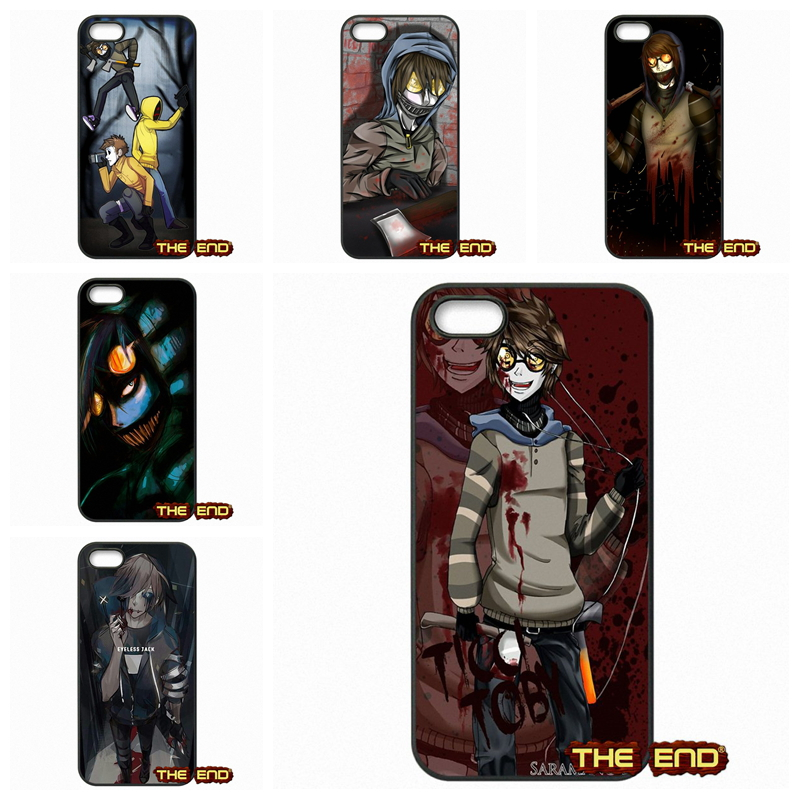 Cool Creepypasta Ticci Toby Mobile Phone Cases Covers For Apple iPod Touch 4 5 6 iPhone 4 4S 5 5C SE 6 6S Plus 4.7 5.5(China (Mainland))
