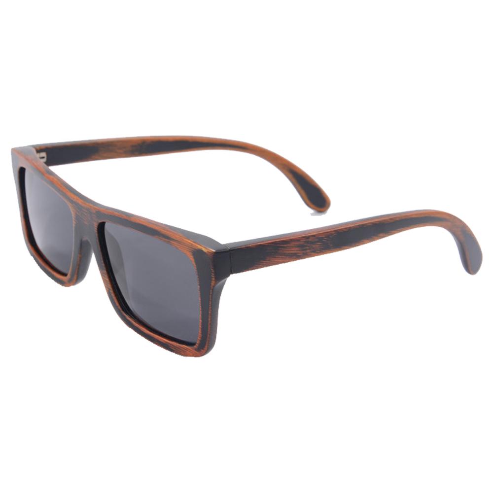 black bamboo sunglasses 2015 fashion polarized sunglasses popular new design wooden sunglasses for free shipping z6010(China (Mainland))