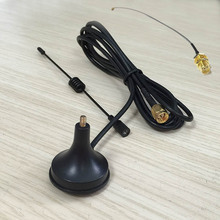 Buy 2.4Ghz 3dbi sucker wif antenna magnetic base extension cable 1.5m SMA male connector + IPX / u.fl SMA Female Pigtail for $4.36 in AliExpress store