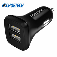 Buy Universal USB Car Charger,2.4A*2 Dual Port Intelligent Car-charger Adapter iPhone 7 6S Plus 5S iPad Xiaomi Samsung Galaxy S7 for $4.74 in AliExpress store