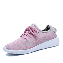 Women 350 Running Shoes Ultra Breathable Jogging Shoes Female Yeezy Boost Walking Sneakers Top Feminino Trainers 1414(China (Mainland))
