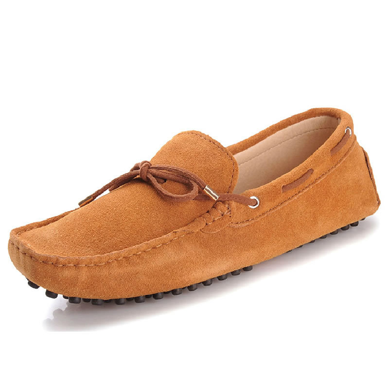 2014 Brand Genuine Leather Sneakers Shoes Mens Casual Shoes Cowhide Driving Moccasins Slip On Loafers Man Loafers