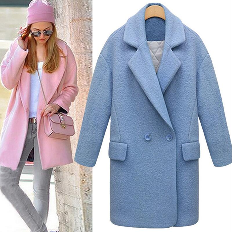 light blue wool pea coat | Gommap Blog