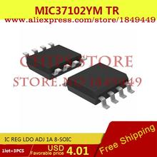 Smart Electronics Integrated Circuit MIC37102YM TR IC REG LDO ADJ 1A 8-SOIC MIC37102YMTR 37102 MIC37102 3 - Chips Store store