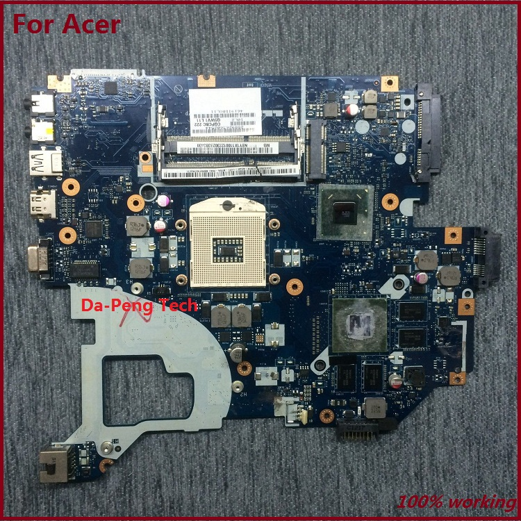 Original laptop motherboard for ACER V3-571 E1-571G NBC1F11001 motherboard Q5WVH LA-7912P Intel DDR3 8 graphics chip fully test(China (Mainland))
