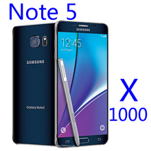 Top quality ! Free shipping  HD clear Screen Protector for Samsung Note 5 1000pcs/lot  with cloth free