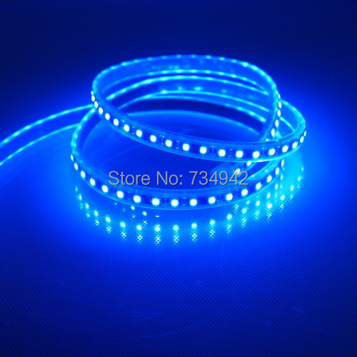 Waterproof-IP68 One Meter DC 12V SMD3528 Flexible LED Strips 120 LEDs Per Meter, White,Red,Green,Blue,Yellow, Copper Background<br><br>Aliexpress