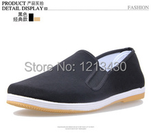 Big  size 35-46 comfortable  men Cotton-made casual shoes breathable flat loafers  with cow muscle outsole whole sale(China (Mainland))